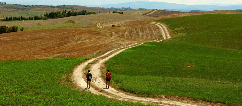 Walking Package On Via Francigena